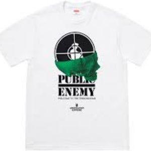 NTW Supreme/UNDERCOVER/Public Enemy Terrordome Tee